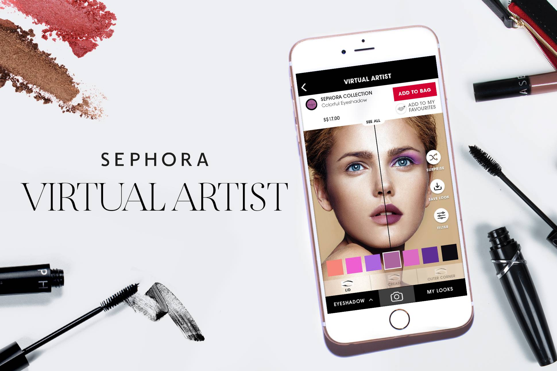 Experience The Future Of Beauty With Sephora's Virtual Artist App