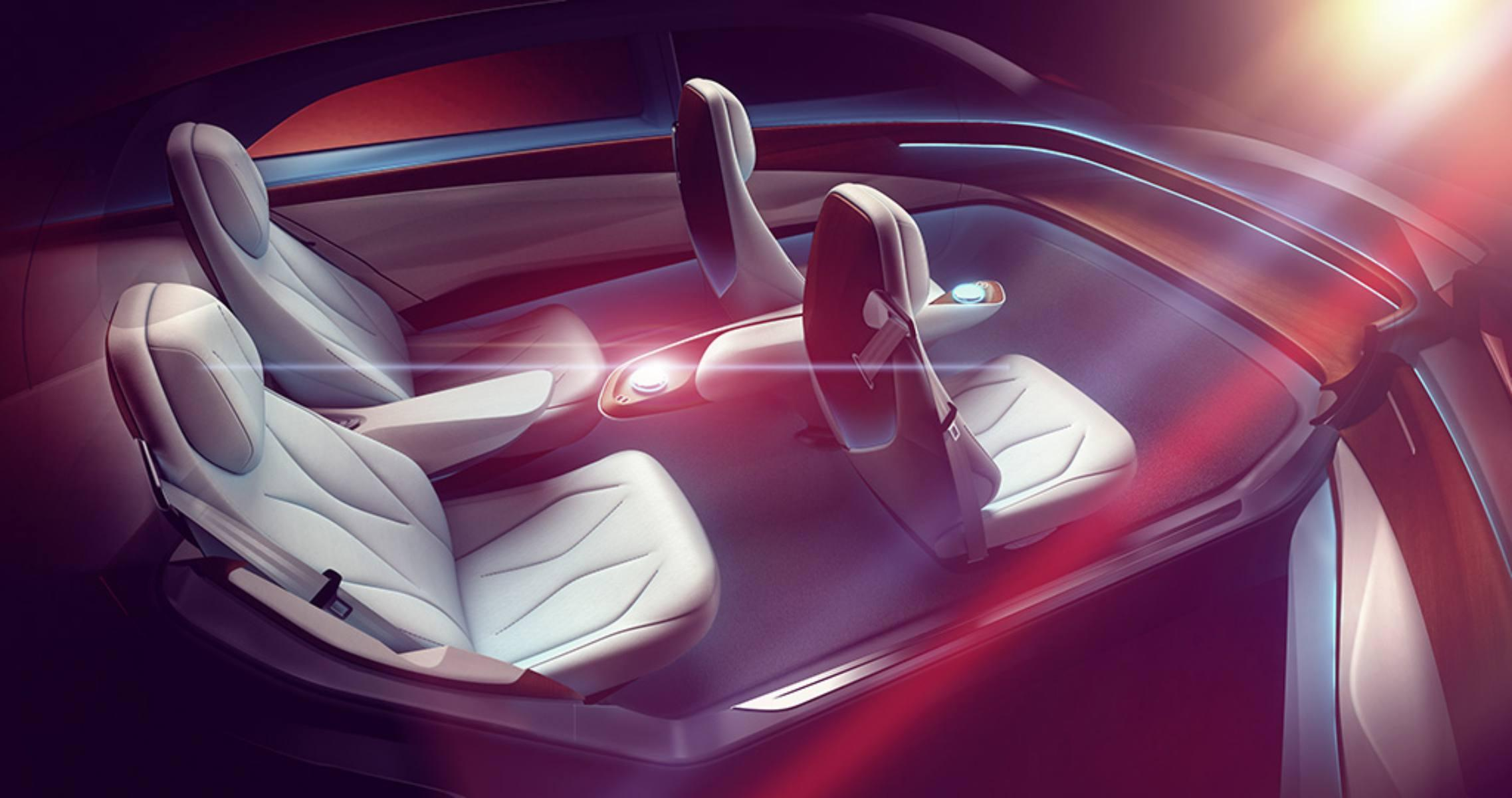 Volkswagen's new concept car features a 'digital chauffeur' instead of a steering wheel