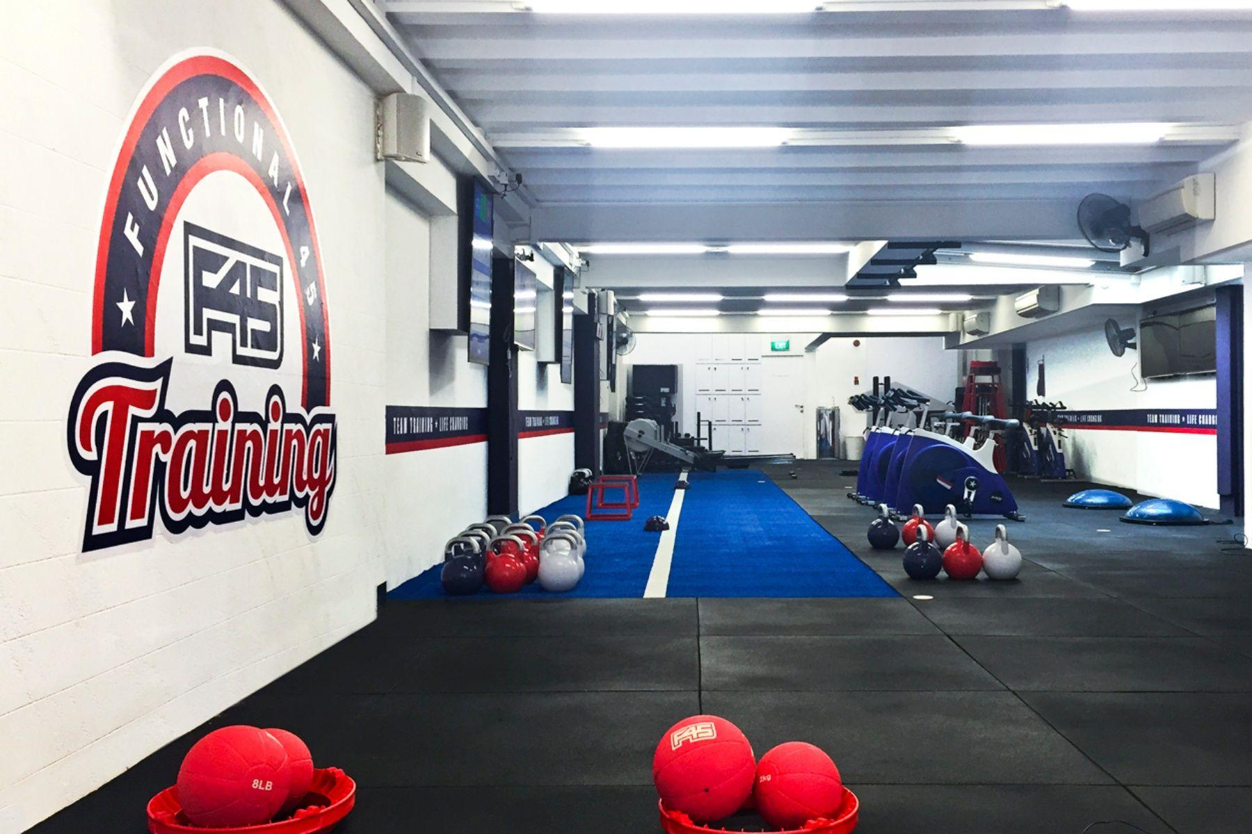 Work Out Like A Celebrity With F45 Training