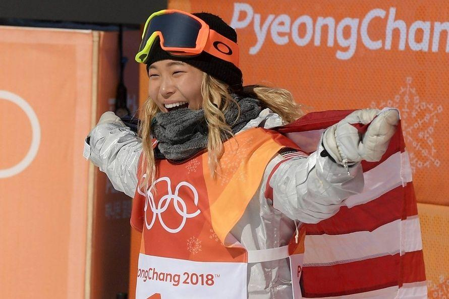 A teenager from the U.S.  wins first Gold medal: Winter Olympic 2018