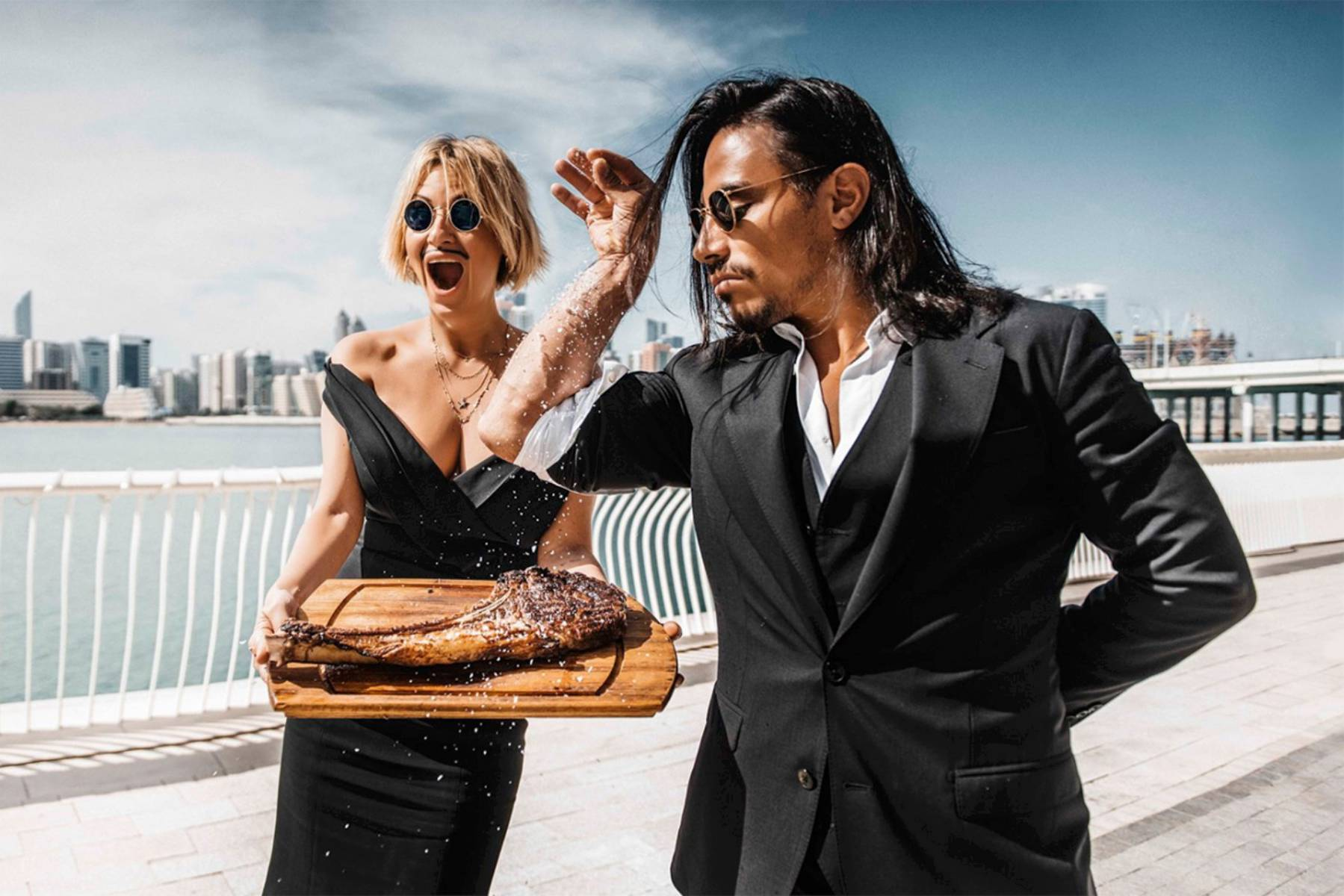 Singapore's Temasek And GIC Close To Acquiring A Chunk Of Salt Bae Steakhouse
