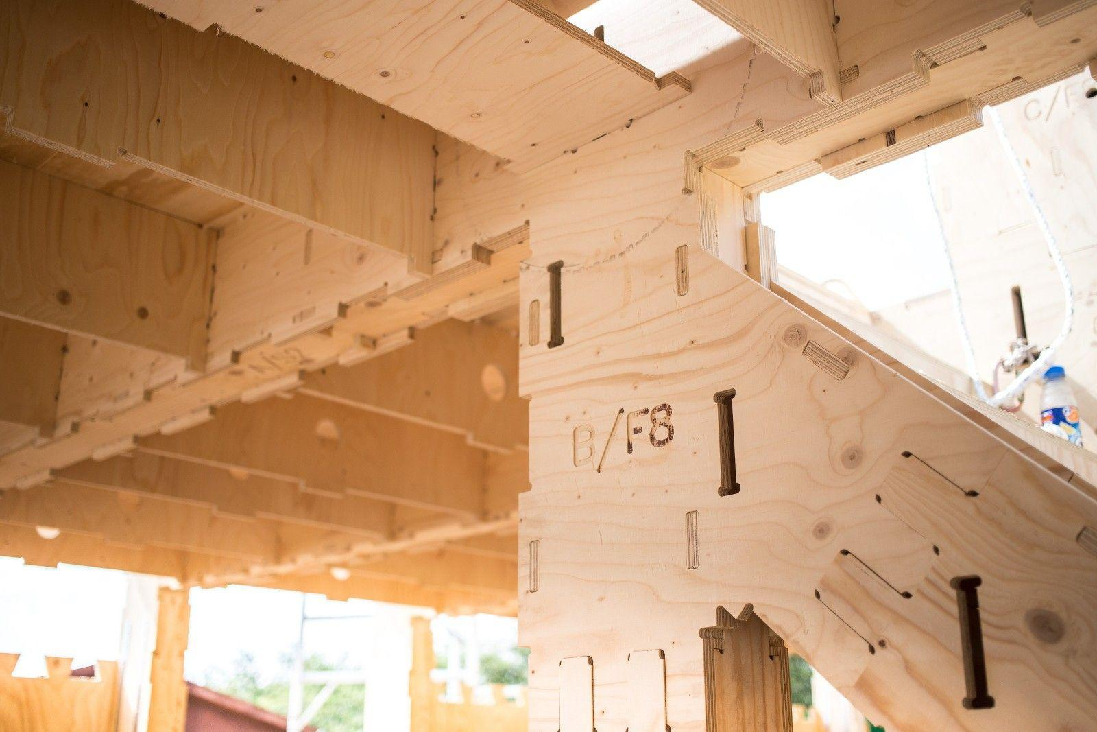 Open Source House, Wikihouse, wood ©Wikihouse team