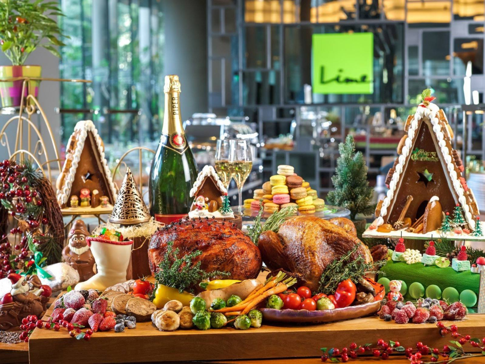 Parkroyal On Pickering Lime Restaurant Seafood Buffet: The Best Places For Christmas Lunch In Singapore 2017