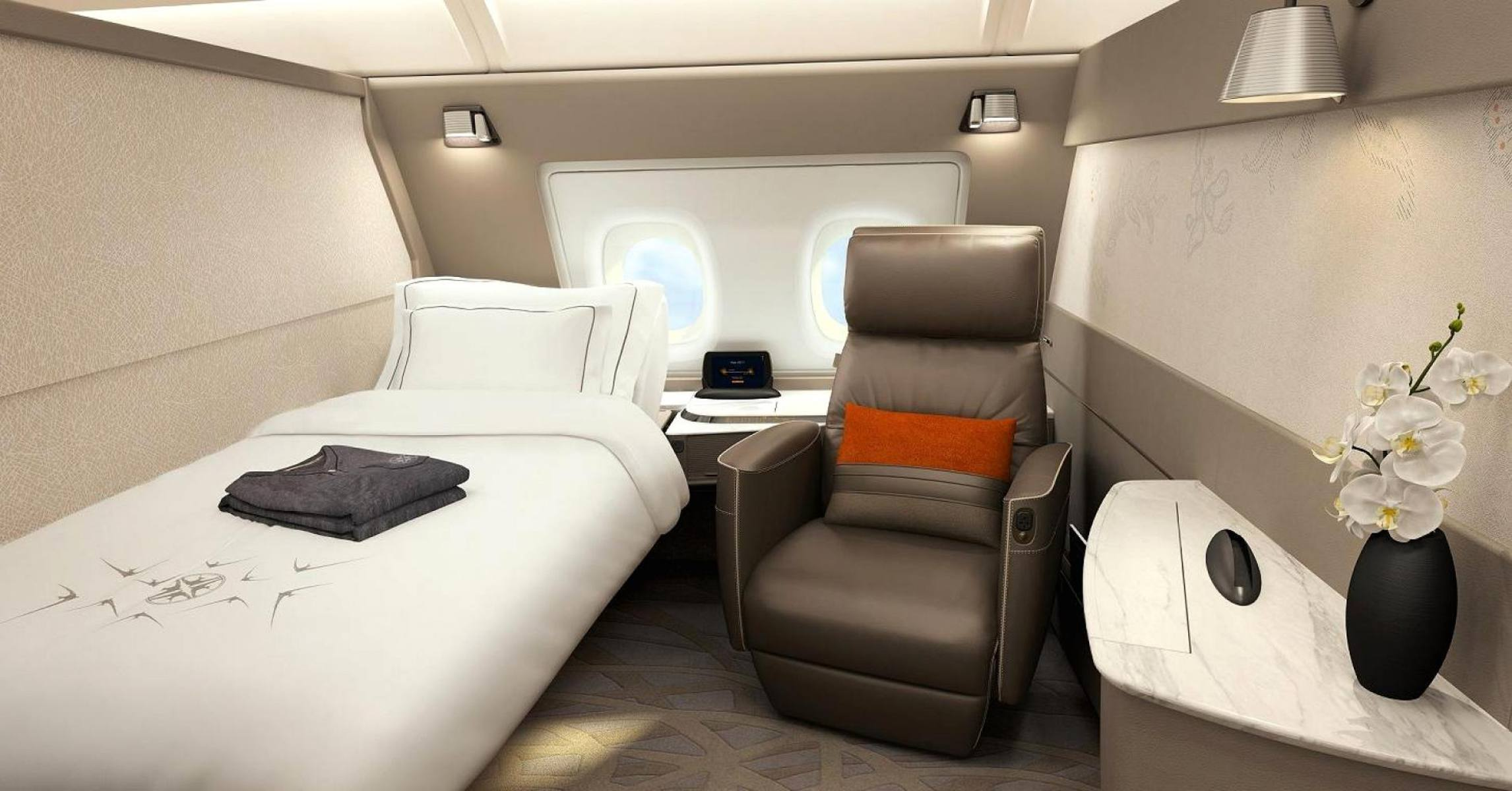 Singapore Airlines Unveil New Ultra Luxe Cabins