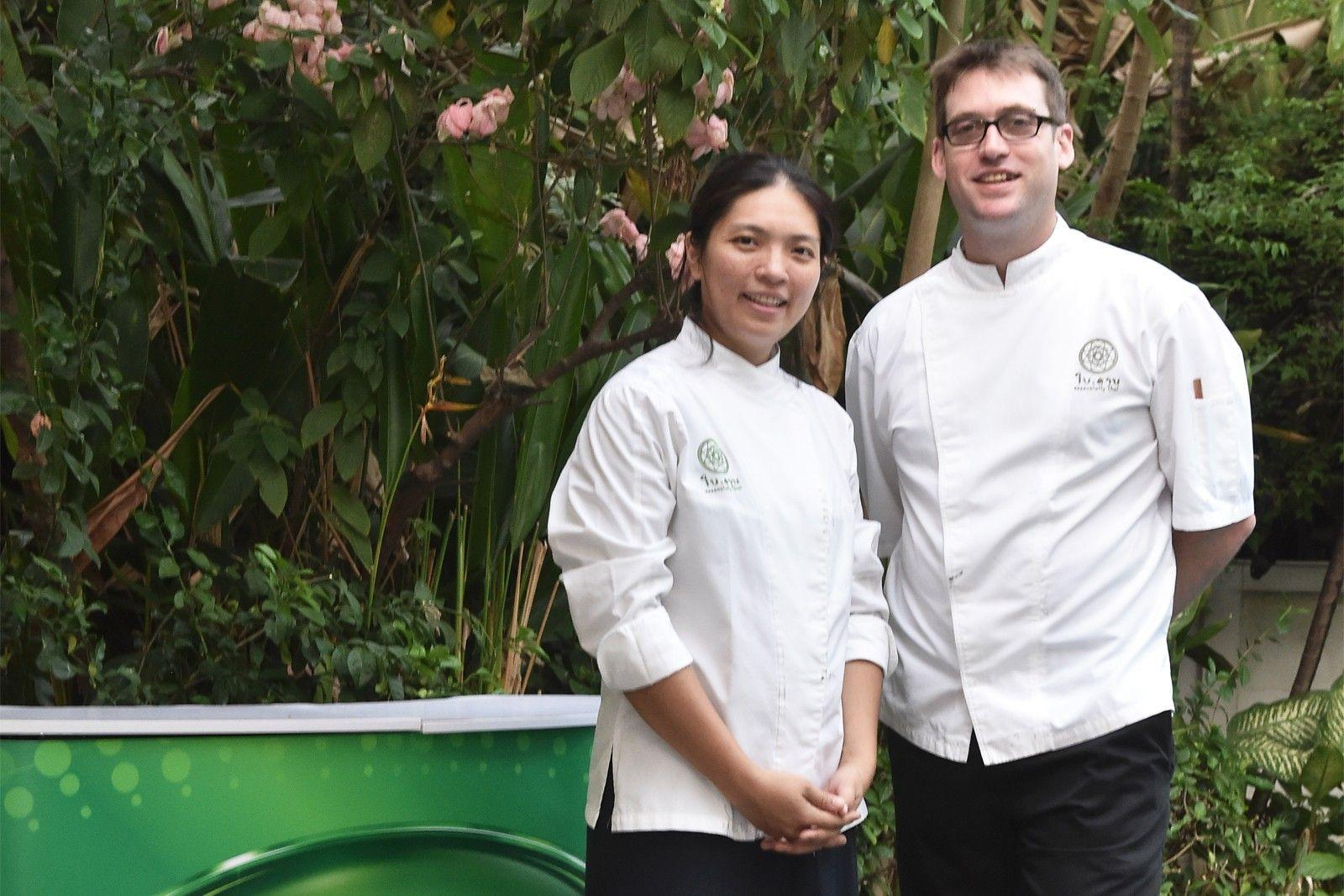 This Culinary Power Couple Is Commited To Preparing Eco-friendly Thai Food