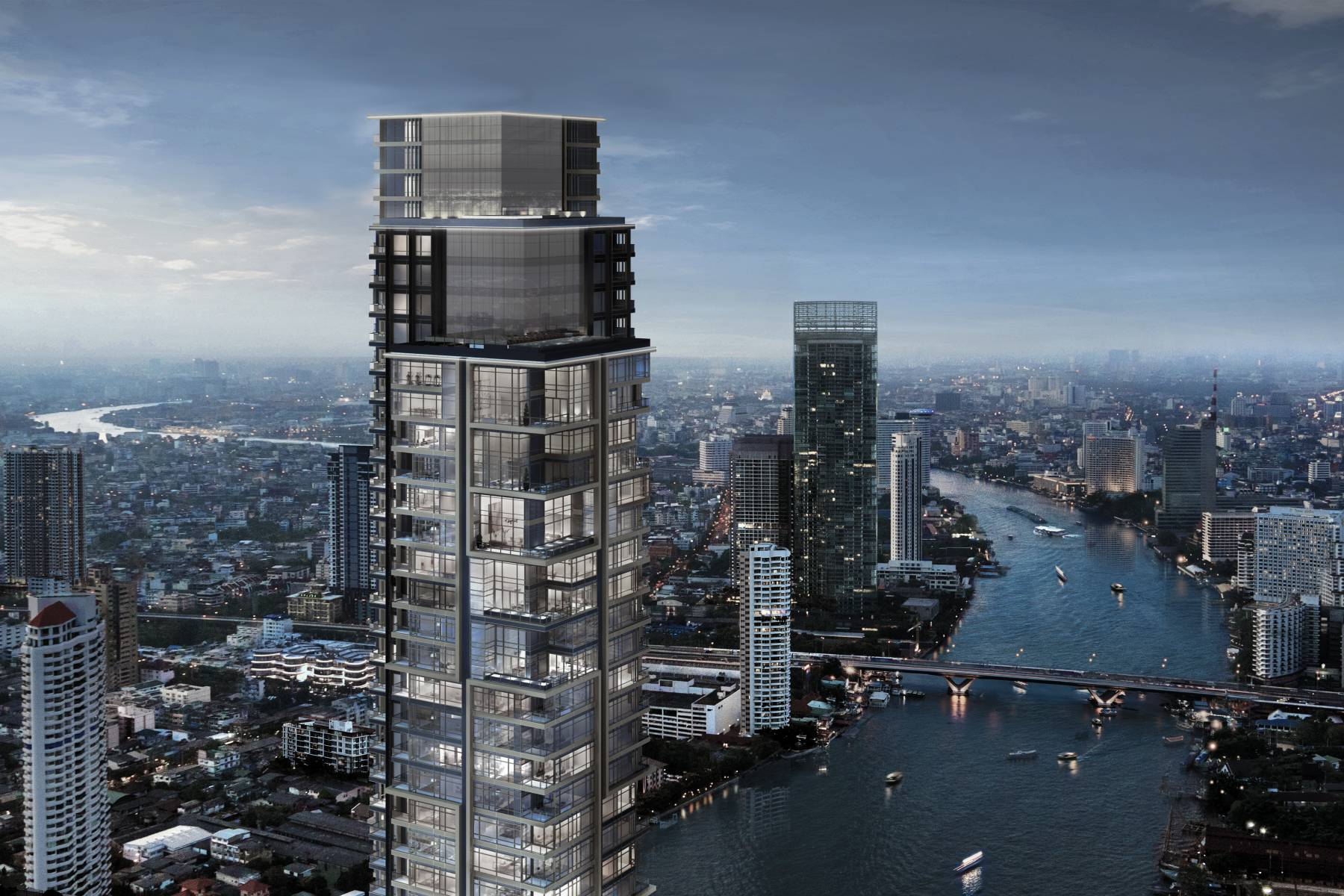 Four Seasons Private Residences Bangkok: Waterfront Living At Its Finest